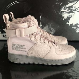 NIKE SF AF1 MID AIR FORCE 1 SILT RED RARE